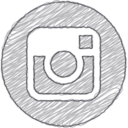Handdrawn Instagram Icon