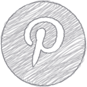 Handdrawn Pinterest Icon
