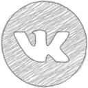 Handdrawn VK Icon