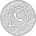 Handdrawn WhatsApp Icon