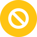 Flat Forbidden Icon