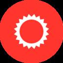 Flat Sun Icon
