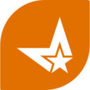 Flat Shooting Star Icon