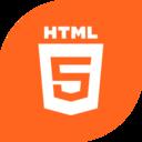 Flat HTML5 Icon