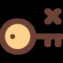 Key X Icon