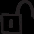 padlock_open