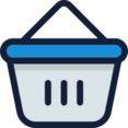 Hand Basket Icon