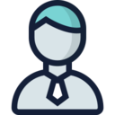 Man in Tie User Icon