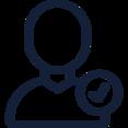 Checkmark User Icon