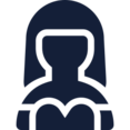 Female in Dress User Icon