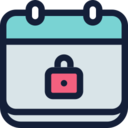 Locked Calendar Icon