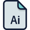 Adobe Illustrator File Icon