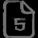 HTML5 File Icon