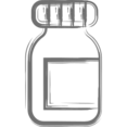 Pharmacy Bottle Icon