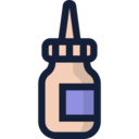 Pointed Medicinal Bottle Icon