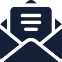 Opened Text Email Icon