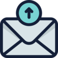 Outgoing Message Icon