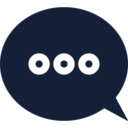 Dotted Speech Bubble Icon