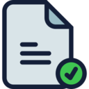 File Uploaded Successfully Icon