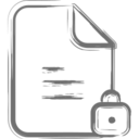 Locked File Icon