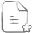 Star Document Icon