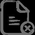 Delete Your File Icon