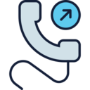 Outgoing Call Icon