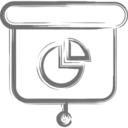 Pie Chart Presentation Icon
