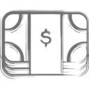 Money Clip Icon