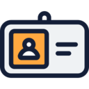 ID & Name Tag Icon