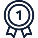 First Place Medal Icon 6437 Dryicons