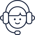 Customer Service Representative Icon