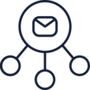 Message Network Icon
