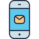 Mail on Phone Icon