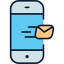 Outgoing Message Phone Icon