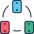Cellphone Network Icon