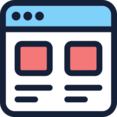 Two Column Layout Icon