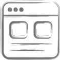 Dual Images Web Page Icon