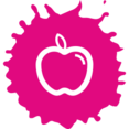 Colorful Apple Icon