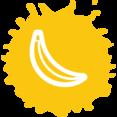 Bright Banana Icon