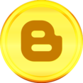 Gold Blogger Icon