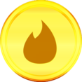 Gold Feedburner Icon