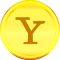 Gold Yahoo Icon