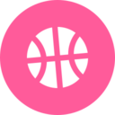 Bright Basketball Icon