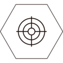 Minimal Crosshairs Icon
