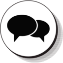 User Chat Bubble Icon 6628 Dryicons