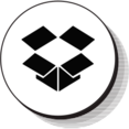 Retro Dropbox Icon