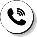 Retro Ringing Phone Icon