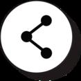 Retro Share Icon