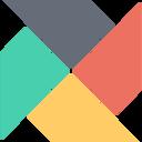 Cross Style Chart Flat Icon